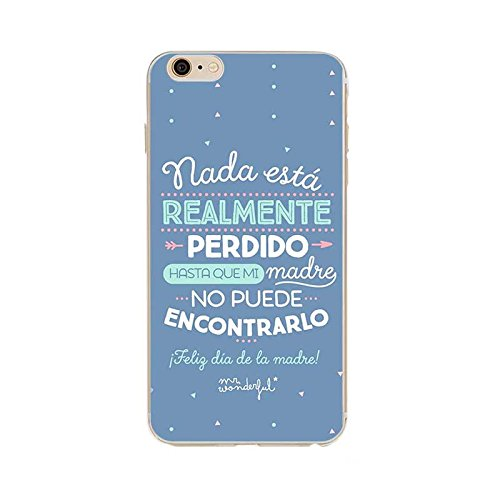 Funda Carcasa TPU Silicona MR Wonderful iPhone 6 /6S: Amazon ...