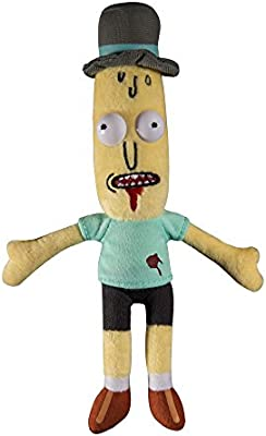 Amazon.com: JINX Rick and Morty Mr. Poopybutthole Wounded Plush Stuffed Toy: Toys & Games