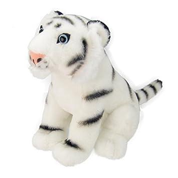 Wild Planet k8230 tigre blanco peluche