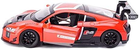 YN モデルカー 1:24シミュレーション車ダイキャストモデルカー合金金属アウディR8LMSスポーツカーモデルカーおもちゃ用男の子コレクションギフト ミニカー