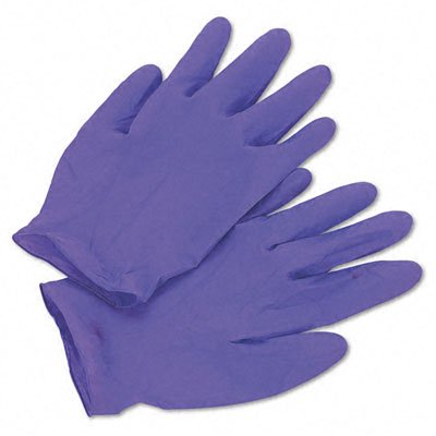 KCC55084 - Purple Nitrile Exam Gloves, X-large, Purple -  KIMBERLY CLARK