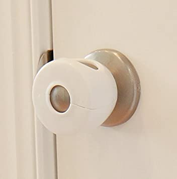 Bon Door Knob Covers   2 Pack   Child Safety Cover   Child Proof Doors By Jool