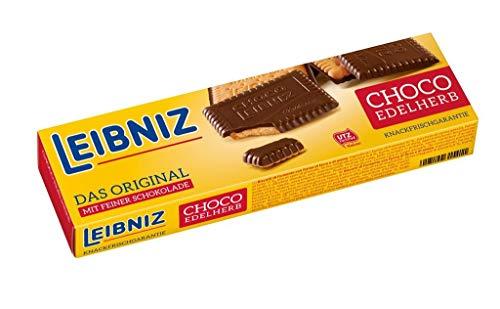 Biscoito Amanteigado com Cobertura de Chocolate Amargo Bahlsen Caixa 125g