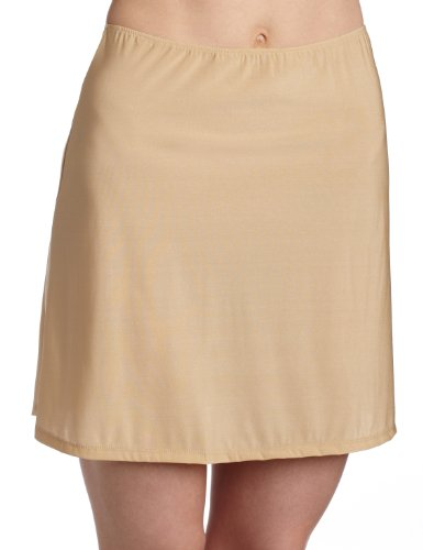 Only Hearts Women's Second Skin 16 Inch Half Slip - 2173,Nude,Small ()