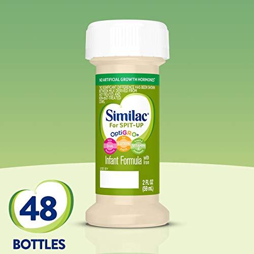 Similac for Spit Up Infant Formula with Iron, Baby Formula 2 fl oz, 48 Count