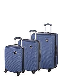 Atlantic Tribute II Hardside 3 Piece Spinner Luggage Set, Navy