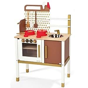 Janod 06520 - Cocina Maxi Chic, juego de imitación ( surtido )
