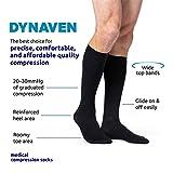 SIGVARIS Men's DYNAVEN Closed Toe Calf-High Socks