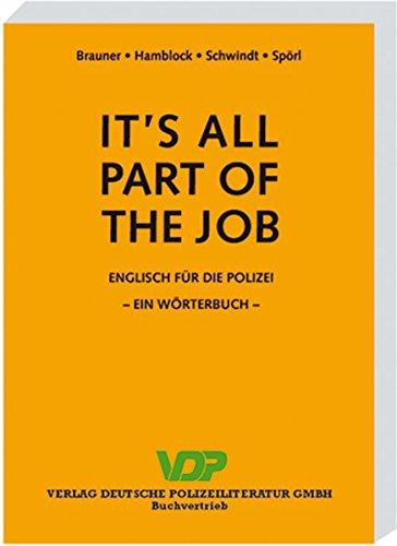It's all part of the job: Ein Wörterbuch (VDP-Fachbuch)