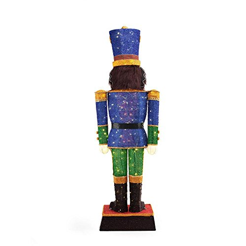 72IN 240L LED TINSEL NUTCRACKER by Home Accents Holiday (Image #3)