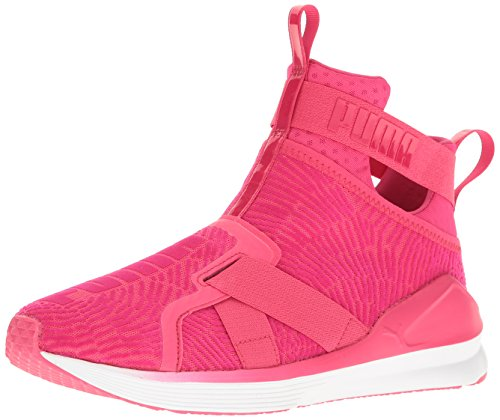 PUMA Women's Fierce Strap Flocking Wn, Sparkling Cosmo-Sparkling Cosmo, 7.5 M US