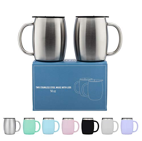 Stainless Steel Coffee Mugs