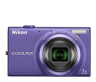 Nikon COOLPIX S6100 16 MP Digital Camera with 7x NIKKOR Wide-Angle Optical Zoom Lens and 3-Inch Touch-Panel LCD