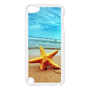 Beach Starfish Hardshell Cover Case for iPod Touch 5, 5G (5th Generation)