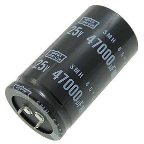 Electrolitico Condensador 47000/µF 25V 85/°C ; ESMH250VSN473MA63U ; 47000uF