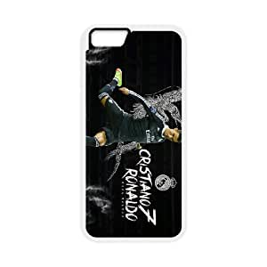 Real Madrid Black iPhone 6 4.7 Inch Cell Phone Case White L2994060
