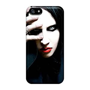 Durable Cases For The Iphone 5/5s- Eco-friendly Retail Packaging(marilyn Manson)