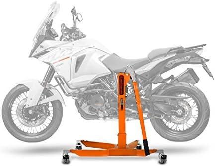 ConStands Power Classic-Zentralständer für KTM 1290 Super Adventure 15-16 Orange Motorrad Aufbockständer Heber Montageständer