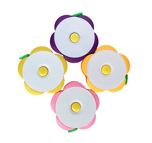 KINGDESON Useful 60-Inch 1.5 Meter Retractable Soft Flower Shape Tape Measure - Online Usa Shopping Websites