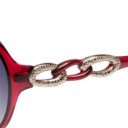 de Las Gafas KHIAD polarizadas Ocasionales UV el Espejo de de Gafas Que Las Sol Conduce de Mujeres Sol x1BnAXdn