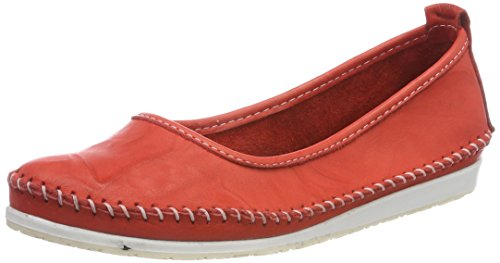 Andrea Conti WoMen 0775703 Closed Toe Ballet Flats Red (Rot 021)