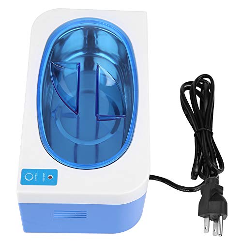 35W 400ml Ultrasonic Cleaner, Professional Jewelry Cleaning Machine with Digital Timer for Eyeglasses Jewelry Rings Coins,US Plug(US Plug)