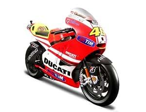 Moto Valentino Rossi Ducati Desmosedici GP 1:10