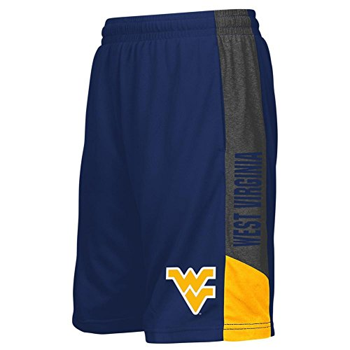 Nice Colosseum West Virginia Mountaineers Youth Shorts Athletic Basketball Short supplier