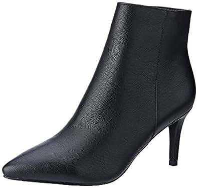BILLINI Women's Sambuca Pointed Toe Boot, Black, 10 AU