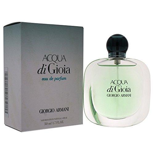 Best Jasmine Perfume - Giorgio Armani Acqua Di Gioia Eau De Parfum Spray for Women, 1.70-Ounce