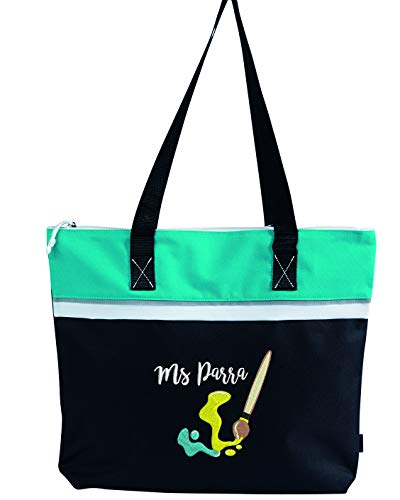 Artist Embroidered Personalized Small Crafting Tote from Simply Custom Life