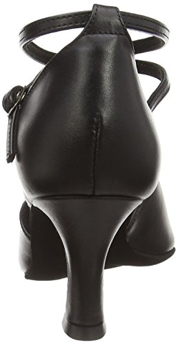 Damen Noir Danse 080 Diamant 058 de Chaussures Femme de Tanzschuhe Salon 034 Noir 4nAaw7dx