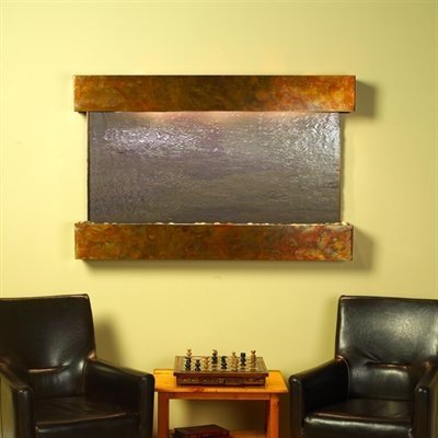 Adagio Sunrise Springs With Rajah Featherstone in Rustic Copper Finish and Squar
