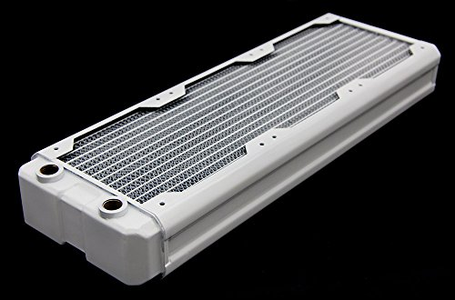Black Ice Nemesis 360GTX Dual-Core Xtreme Profile Radiator - White