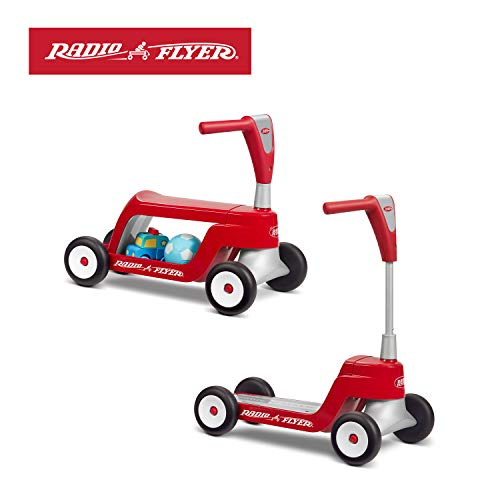 1st Birthday Gift Ideas For Boys (Radio Flyer Scoot 2 Scooter Ride)