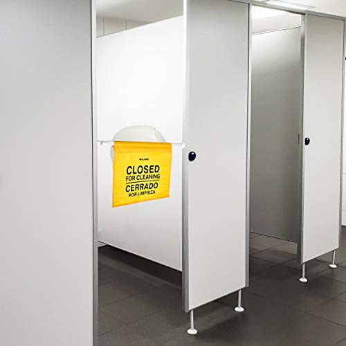 """Alpine Industries """"Closed for Cleaning"""" Hanging Safety Sign - Heavy Duty Warning Precaution - for Establishments and Commercial Use by Alpine Industries (Image #6)"""
