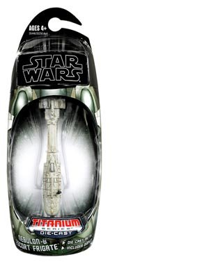Star Wars 2010 Titanium DieCast Mini Vehicle NebulonB Excort Frigate