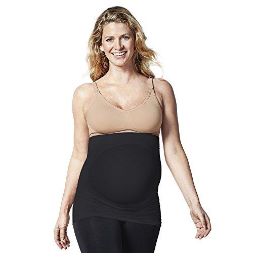 BRAVADO! DESIGNS Belly & Back Pregnancy Support Band, S, Black (Nursing Belly Band)