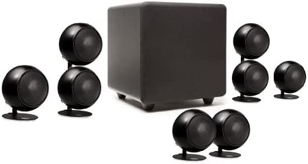 Orb Audio 5.1 People s Choice Home Theater Speaker System in Metallic Black