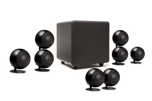 Orb Audio 5.1 People's Choice Home Theater Speaker System in Metallic Black by Orb Audio