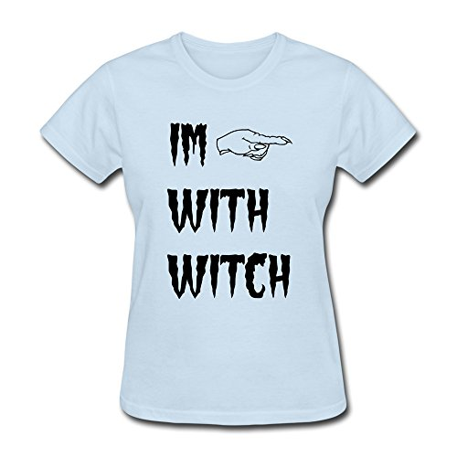KEMING Women's Witch Hand T-shirt XXL -