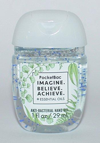 Believe Bath (Bath & Body Works PocketBac Sanitizer Hand Gel Imagine Believe Achieve)