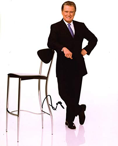 REGIS PHILBIN - TV King AUTOGRAPH Signed 8x10 Photo from TopPix Autographs