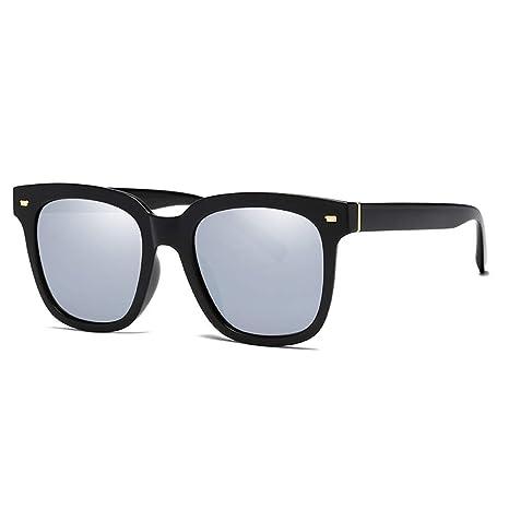 L.L.QYL Gafas Gafas de Sol Redondas Vintage para Mujer ...