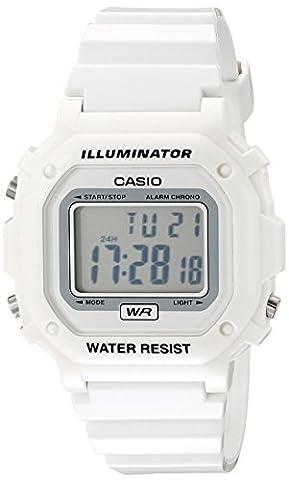 Casio Unisex F108WHC-7BCF Watch (Sport Watches Womens White)