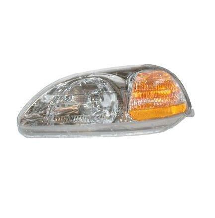 Honda Civic Lh Headlamp - 9