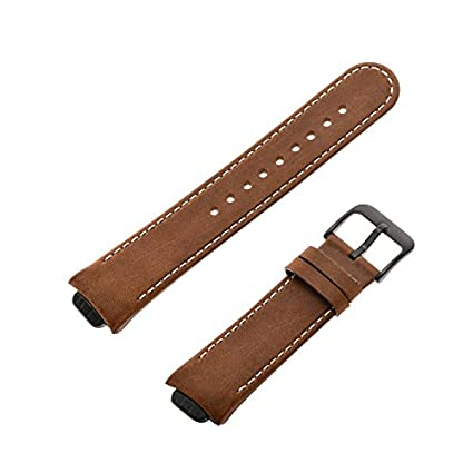 Amazon.com: Feicuan 14mm Genuine Leather Watchband ...