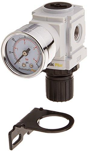PneumaticPlus PPR2 N02BG 4 Miniature Pressure Regulator