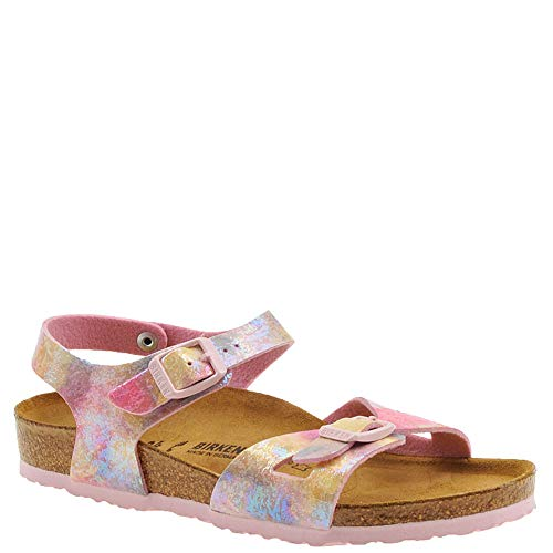Birkenstock Kid's Rio Water Color Multi Birko-Flor Sandal 33 N EU (2-2.5 US Little -