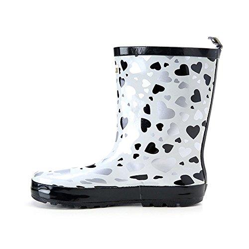 Shoes Fashion Rain Black Boots Rain PVC Boots Womens Love Magone Yqw187B